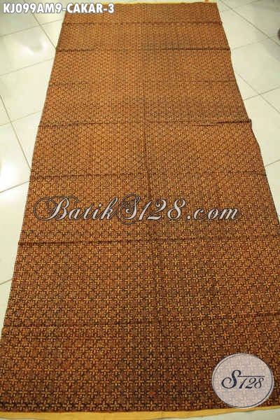 Kain Batik Jarik Motif Cakar Proses Kombinasi Tulis, Batik Solo Nan Istimewa Cocok Untuk Acara Adat Jawa Tengah [KJ099AM-240x110cm]