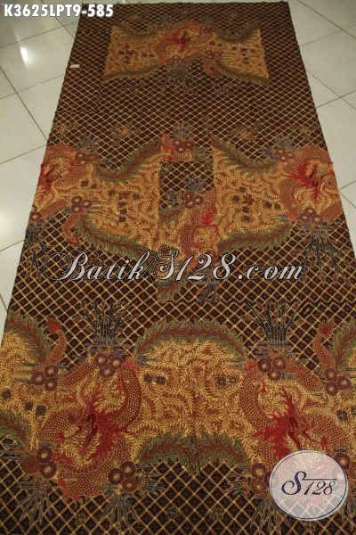 Koleksi Terbaru Kain Batik Tulis Pola Kemeja Lengan Panjang, Batik Premium Khas Solo Motif Elegan Nan Berkelas, Cocok Untuk Busana Kondangan [K3625LPT-240x110cm]