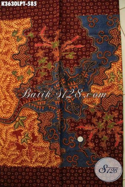 Sedia Kain Batik Tulis Pola Kemeja Lengan Panjang Motif Bagus Kwalitas Premium, Istimewa Untuk Seragam Kerja Dan Busana Ke Kondangan [K3630LPT-240x110cm]