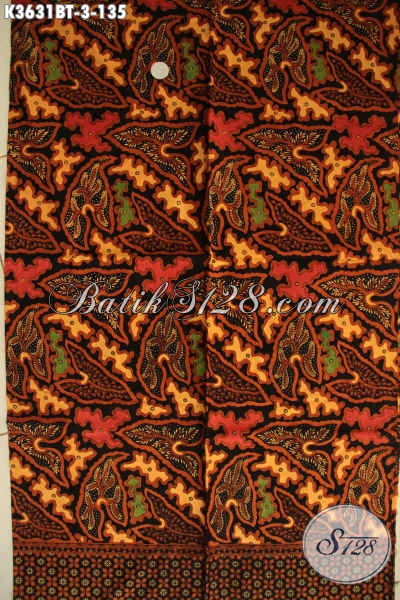 Kain Batik Motif Terbaru Bahan Busana Wanita Pria Motif Elegan Jenis Kombinasi Tulis Asli Buatan Solo Jawa Tengah [K3631BT-240x110cm]