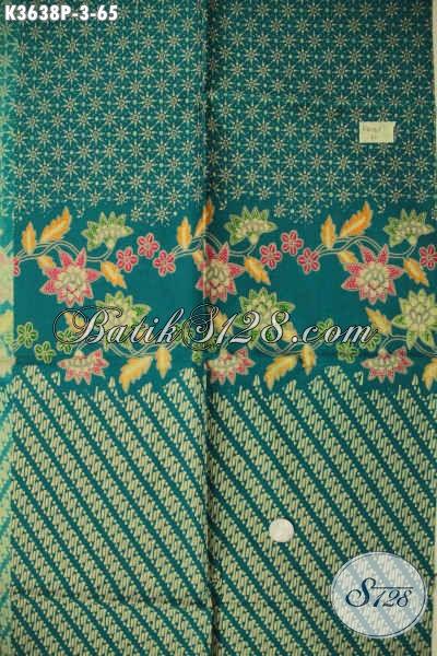 Kain Batik Murah Meriah Kwalitas Mewah Hadir Dengan Motif Modern Berpadu Warna Trendy Cocok Untuk Busana Kerja Wanita Pria, Tampil Lebih Kekinian [K3638P-200x110cm]