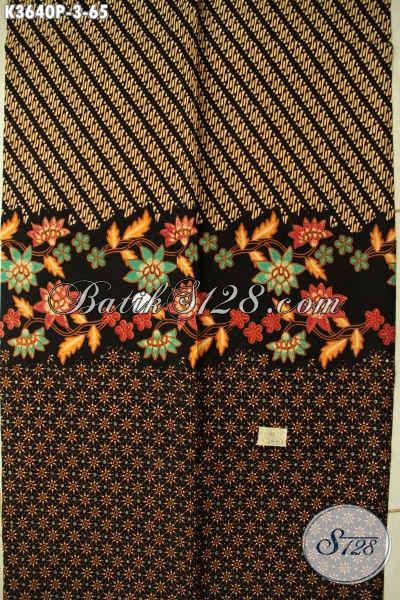 Kain Batik Motif Modern Warna Elegan Jenis Printing, Batik Solo Halus Kwalitas Istimewa, Pas Untuk Baju Santai Maupun Resmi Hanya 60K [K3640P-200x110cm]