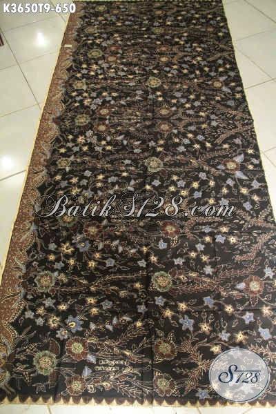 Sedia Kain Batik Solo Motif Terbaru, Batik Halus Kwalitas Premium Jenis Tulis, Cocok Untuk Aneka Busana Wanita Pria Nan Mewah [K3650T-240x110cm]