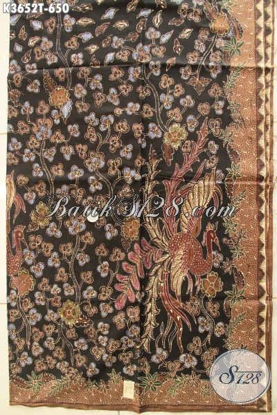 Kain Batik Istimewa Asli Buatan Solo, Batik Tulis Premium Motif Terkini Bahan Busana Formal Wanita Dan Pria Menunjang Penampilan Lebih Sempurna [K3652T-240x110cm]