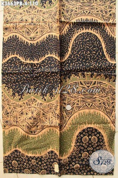 Toko Batik Online Lengkap Dan Terpercaya, Jual Kain Batik Halus Motif Bagus Khas Solo Bahan Busana Wanita Pria Menunjang Penampilan Lebih Mempesona [K3663PB-240x110cm]