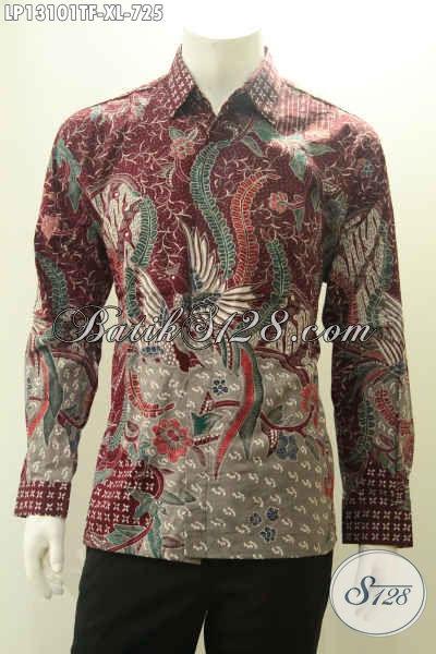 Kemeja batik tulis terbaru