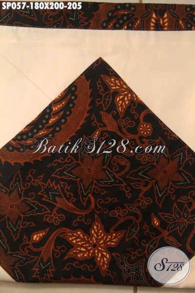Jual Sprei Batik Solo Motif Klasik Jenis Printing, Berbahan Katun Halus Adem Untuk Meningkatkan Kwalitas Tidur Lebih Baik [SP057-180x200cm]