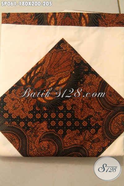 Sprei Batik Kwalitas Istimewa Asli Buatan Solo Motif Klasik Berbahan Katun Halus Dengan Harga Terjangkau [SP061-180x200cm]