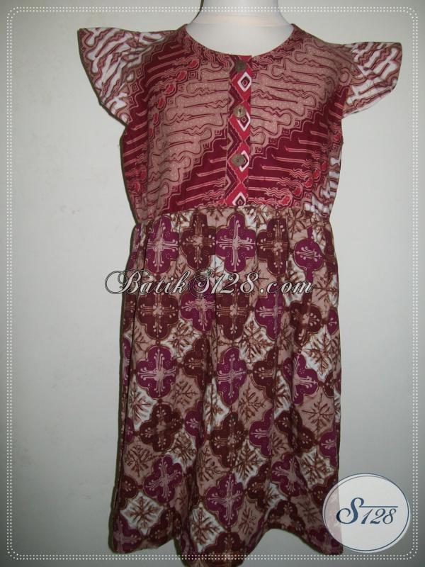 Baju Batik Anak Klasik Modern, Elegan Dan Cantik [A025CL]