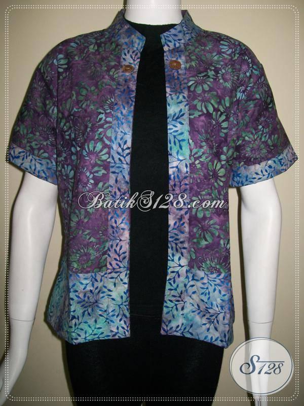 Bolero Batik Bolak Balik Lengan Pendek,Elegan Dan Exclusive [BLR436CS]