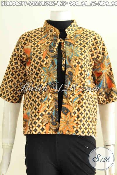 Balero Batik Desain Terkini, Busana Batik Wanita Masa Kini ...
