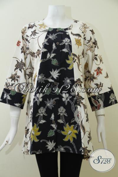 Batik Jumbo Desain Mewah Nan Elegan, Baju Batik Untuk ...