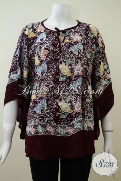 Jual Baju Batik Kelelawar Untuk Wanita Muda Dan Dewasa Blus Batik Bahan Paris Mewah Dan Lembut Bls2140cr All Size Toko Batik Online 2021