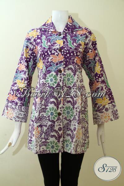 Jual Baju Batik Cap Trendy Desain Premium Hadir Dengan ...