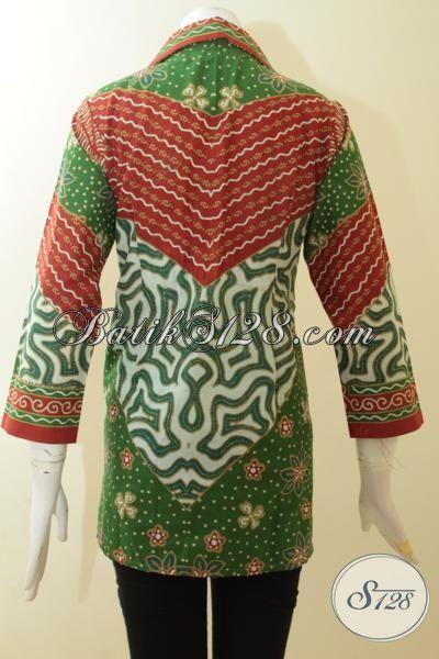Blus Batik Motif Paling Bagus Saat Ini, Pakaian Batik ...
