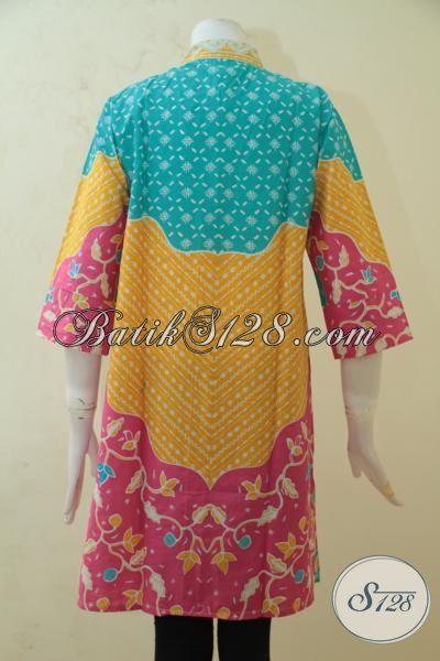 Jual Aneka Batik Blus Printing Dengan Desain Menarik Dan ...