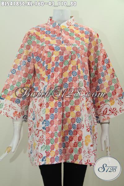 Baju Batik Motif Unik Dan Trendy, Pakaian Batik Ukuran XL ...