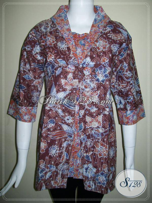 Baju BAtik Wanita Masa Kini [BLS434P-L]
