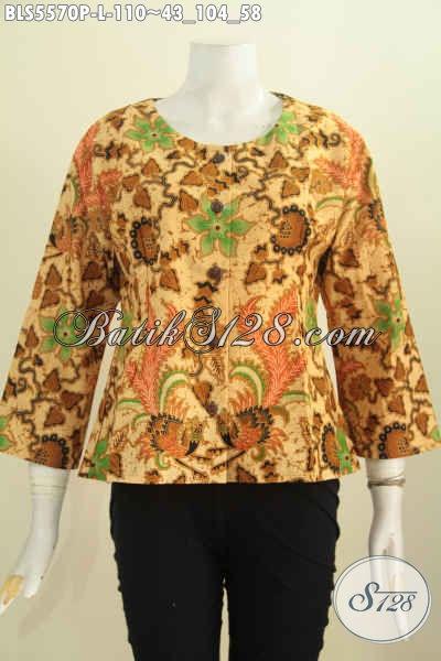 Baju Blus Wanita Masa Kini, Pakaian Batik Keren Desain ...