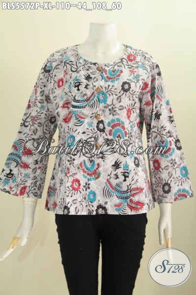Jual Baju Blus Batik Kekinian, Pakaian Batik Modern Desain ...