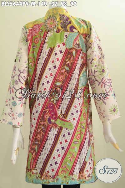 Jual Baju Batik Muslim Untuk Wanita, Hadir Dengan Desain ...