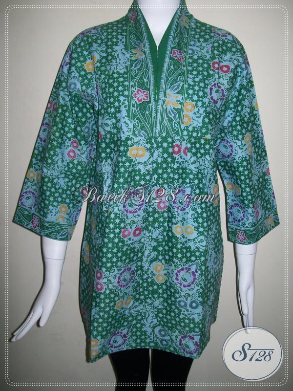 Batik Wanita TRendy,BAtik Wanita Modern,Batik Wanita Santai [BLS582CL-L]