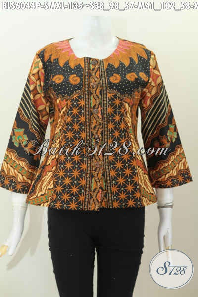 Baju Batik Wanita Karir, Hadir Dengan Desain Tanpa Krah ...