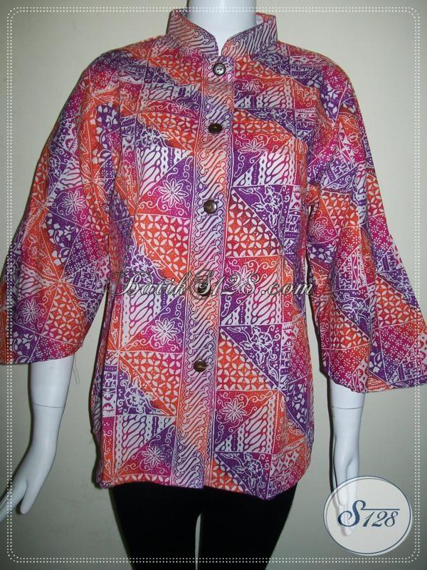 Toko Online Busana Batik Wanita Trendy Masa Kini [BLS611CG-L]