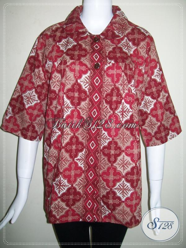 Baju Batik Selera Wanita Masa Kini [BLS618CT-M]