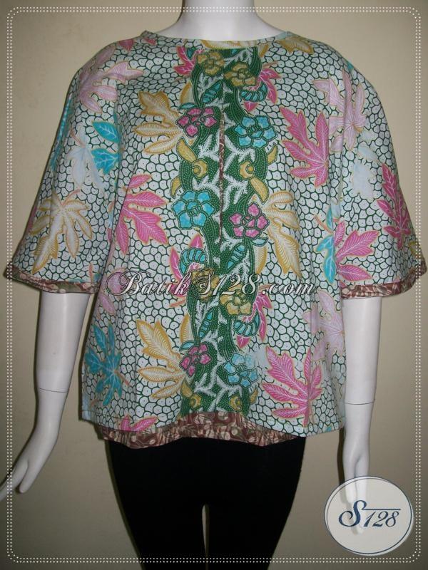 Baju Batik Model Remaja,Blus Cantik Batik Solo Untuk Remaja Putri [BLS628P-M]