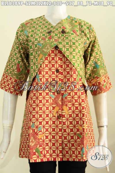 Model Baju Batik Wanita 2017 Terbaru 7b98eee7c5