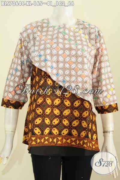 Baju Batik Wanita Elegan Dan Berkelas, Pakaian Batik Solo ...
