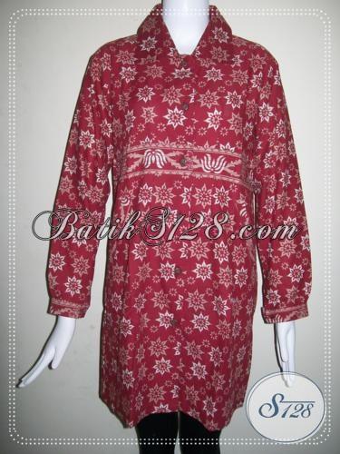 Rumah Batik Murah Untuk Grosir Para Reseller,Baju Batik Wanita Kantor [BLS765CT-L]