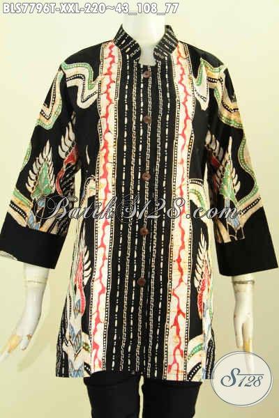 batik tulis solo online model blouse wanita terbaru
