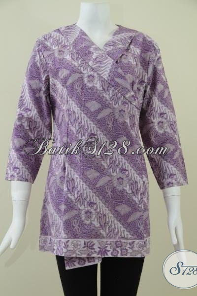 Baju BAtik Model Kimono,Batik Wanita Trendy Dan Model Banyak Disukai [BLS922BT-S]