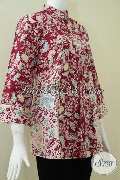 Batik Online Dijual Dengan Harga Murah,Baju BAtik Wanita Berkwalitas [BLS999C-M]