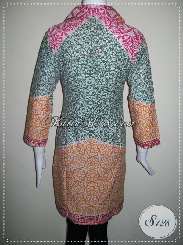 Butik Dress Batik Cantik Asli Solo [DR021P]