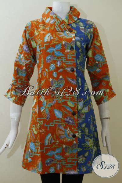 Butik Dress Batik Jawa Dengan Desain Terbaru Cocok Untuk ...