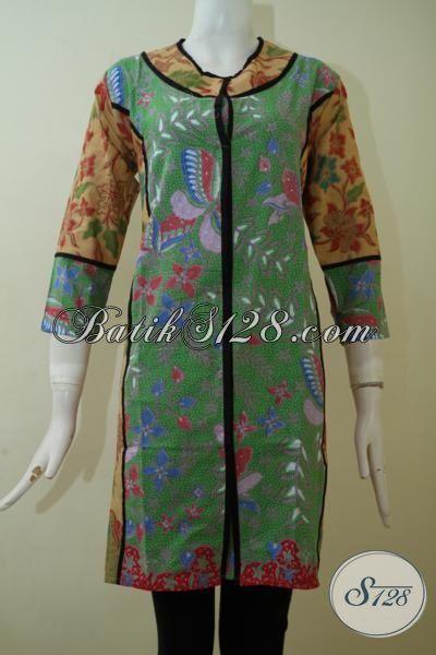 Sedia Baju Batik Perempuan Dewasa Motif Klasik Desain ...