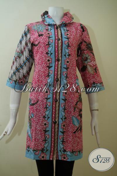 Jual Aneka Busana Batik Wanita Model Dress Terbaru, Baju ...