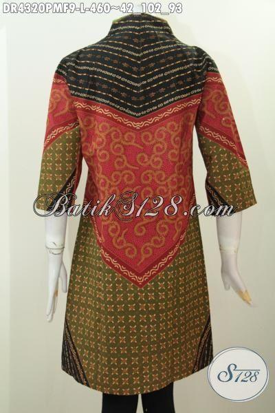 Sedia Busana Batik Dress Khas jawa Tengah, Baju Batik ...