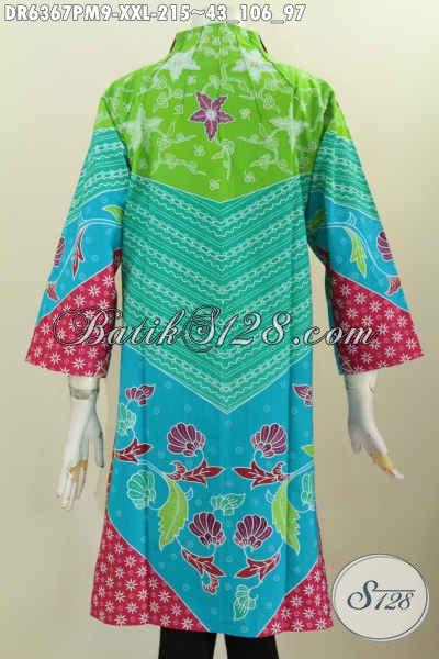 Pakaian Batik Wanita Gemuk Desain Terkini, Baju Batik ...