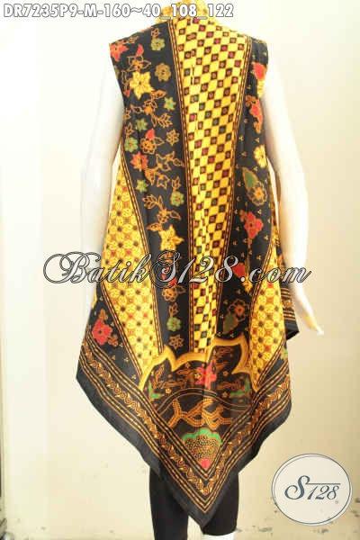 Baju Dress Modern Tanpa Lengan Desain A Simetris, Busana ...
