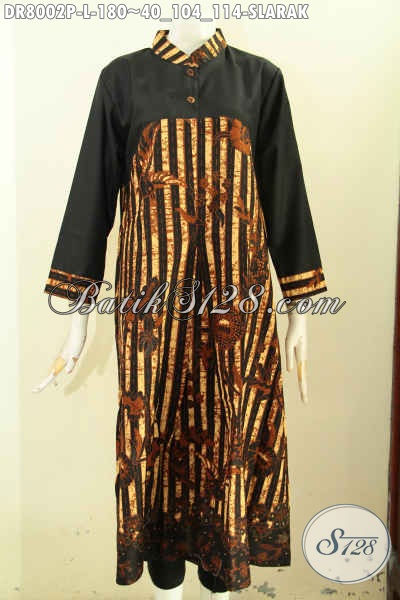 Model dress batik panjang terbaru kekinian