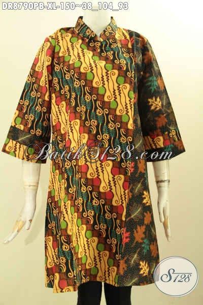 Pakaian Batik Elegan Desain Modis Spesial Untuk Wanita ...