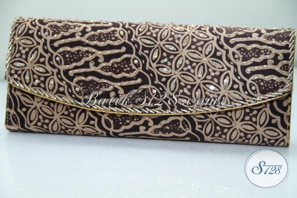 Dompet Craft Bahan Sutra, Untuk Acara Resmi, Kondangan, Arisan Istri Pejabat Dan Pengusaha [DS0012BY]