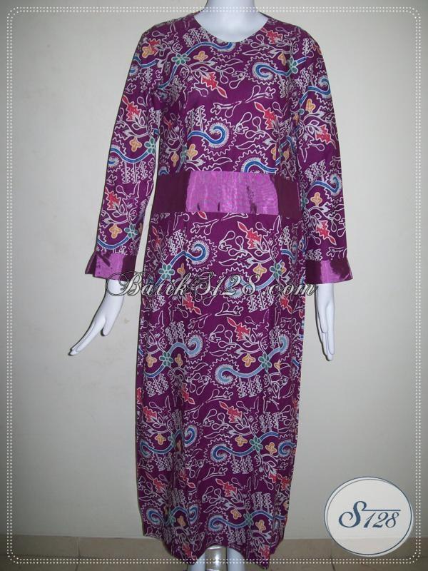 Gamis Batik Trendy Untuk Muslimah [G014C-S]