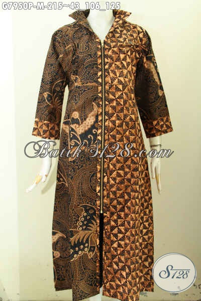 Toko Baju Batik Muslim Online Sedia Gamis Batik Lebaran Berkelas Model Resleting Depan Cocok Untuk Wanita Muda Dan Dewasa G7950p M Toko Batik Online 2021