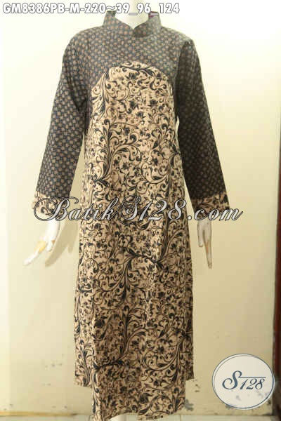 Model Baju Batik Gamis Kekinian Busana Batik Solo Terbaru Bahan
