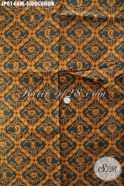 Jual Online Batik Klasik Nan Istimewa, Produk Batik Elegan Dan Mewah Motif Sidoluhur Bahan Jarik Dan Busana Formal [JP014AM-240x105cm]